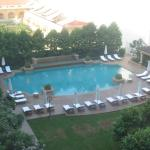Pool from the room