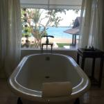 View from the Bath in Dona Rosa Suite