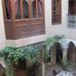 Entrance to Riad Zayane