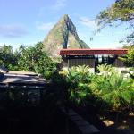 Daytime view of the Piton