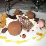 Dessert at Blue by Eric Ripert