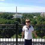 View from the Top of the Hay Adams