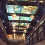 Loved the stained glass roof