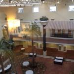view of indoor courtyard from room 5017