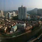 Shenzhen on a clear day from hotel room