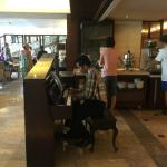 Pianist at Breakfast