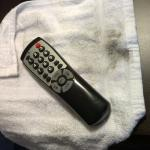 TV Remote - Very Dirty