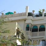 Part of the Mewari villa. Upstairs the rooftop, downunder the rooms