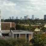 View of Tampa from our floor