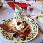 Breakfast Blintzes