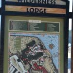 This is a map of the hotel