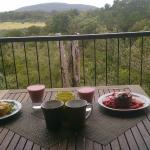 Our Breakfast on Our Private Balcony