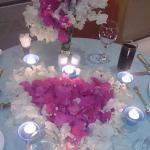 Flowers in Dining