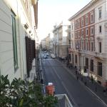 View down the via del Corso from our room