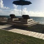 Beachside rotating lounges