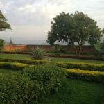 Garden and views of Kigali