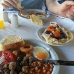 Hearty breakfast to set you up for the day