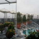 Even cold and rainy the roof top was fun