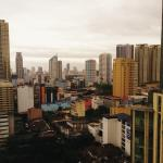 View of Manila from room