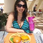 Lunch at the pool grill