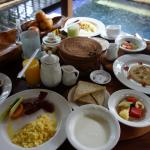 Breakfast in our room - can order as much as you like