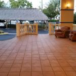 Patio off from lobby