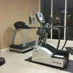 Workout area