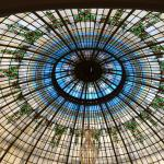 The stained glass dome cafe