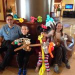 Tony The Balloon Guy was amazing and funny; kids had a perfect breakfast! @marriot sands keys