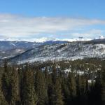 View of the Continental Divide from the Balcony