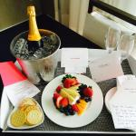 An amazing welcome amenity at the W. Ft. Lauderdale.  The team at this W. has proven time & agai