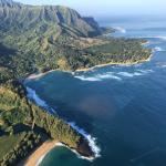 The Princeville area and north of Kauai