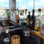 All the drinks you want at the manta lounge