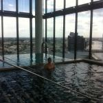 Plunge pool on 27th floor