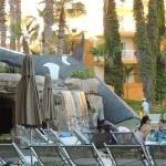 Picture of Whale Slide at the pool