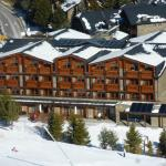 Rear of hotel from piste