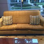 Sagging Sofa in Lobby