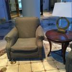 Sagging Chair in Lobby