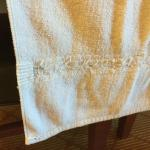 Towels with holes