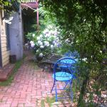 private front courtyard