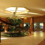 Main lobby and royal canoe