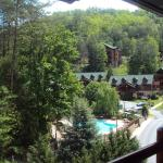 Hotel Balcony - Westgate Smoky Mountain Resort