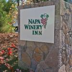 Napa Winery Inn Sign