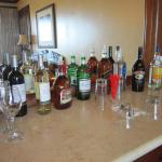Bar in room