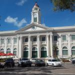 Mayaguez city Hall near the hotel