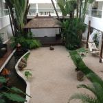 zen garden from 2nd floor