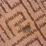 burned carpet