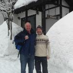 Markus and I and lots and lots of snow !!!