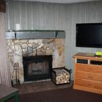 1 bed condo (wood burning fireplace)