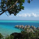 View from my overwater Bungalow